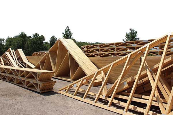 home trusses, engineered trusses, custom trussess sault-ste-marie